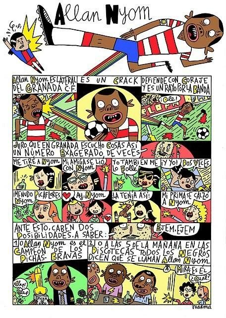 GRANADA FUTBOL COMIC