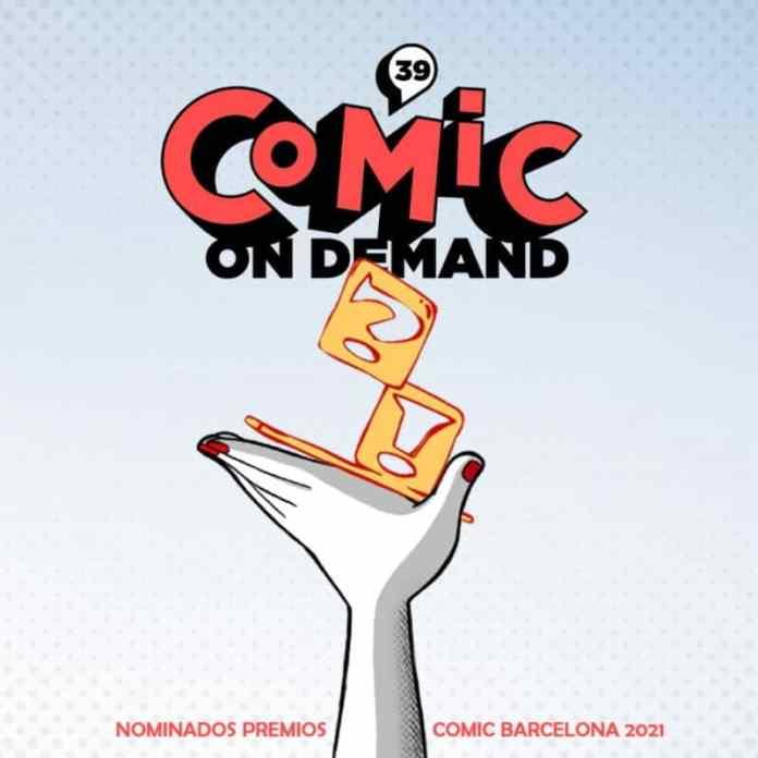 Lista de nominadxs en los Premios Comic Barcelona 2021