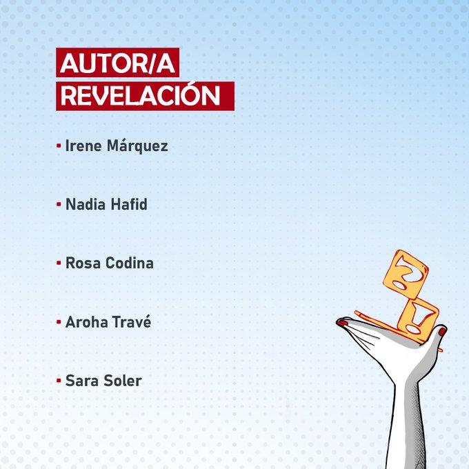 Cuestionarios a las 5 nominadas a Autor/a Revelación en el Salón Comic Barcelona 2021