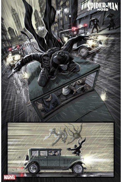 Spiderman Noir Crespusculo en babilonia