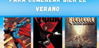 3 cómics de superhéroes para comenzar bien el verano