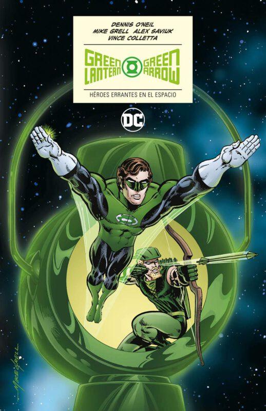Green Lantern Green Arrow Heroes errantes del espacio