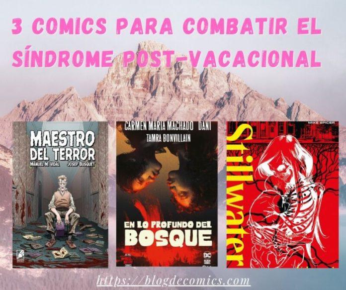 3 comics para combatir el síndrome post-vacacional