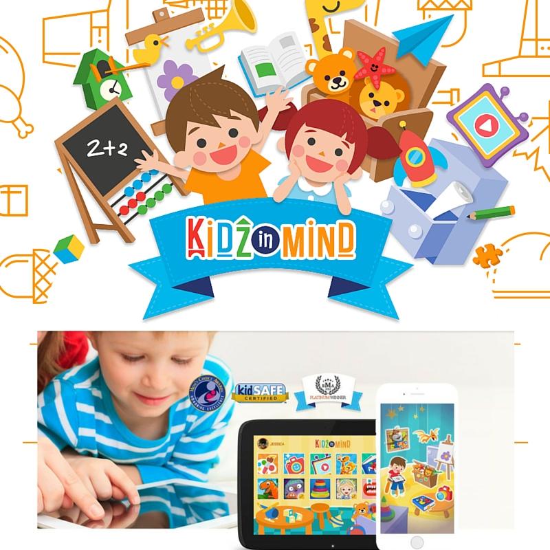 Kidzinmind, l'app di gioco sicura per i più piccoli