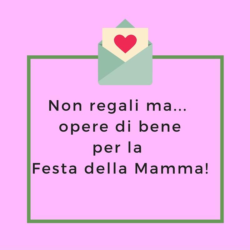 I Regali per la Festa della Mamma