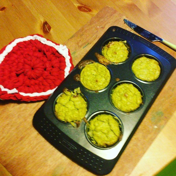 Muffin di zucchine e parmigiano, le #bonzoricette