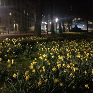 Londra da sola per una notte, visita ai luoghi dell'attentato qualche giorno prima