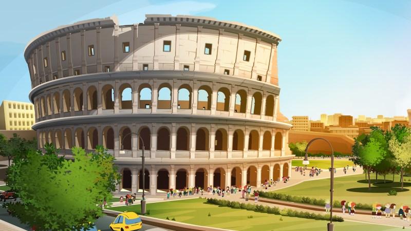 East End dove Roma è ancora Caput Mundi. Il film di animazione in uscita il 3 maggio