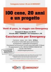 cacciuccata per emergency