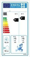 Etichetarea energetica a unei pompe de caldura pentru incalzire