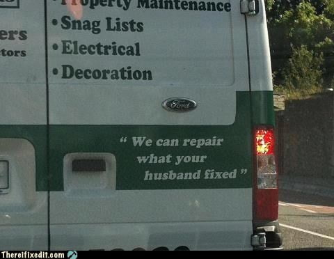 Noi putem repara ce a incercat sa repare sotul dumneavoastra