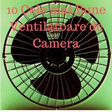 10 Cele mai Bune Ventilatoare de Camera (Plus Ghidul Cumparatorului)