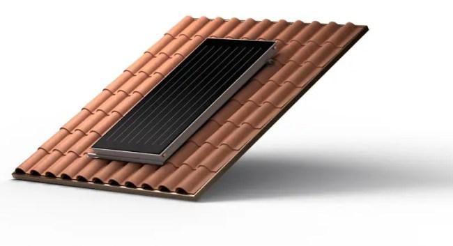 Sistemul de panouri solare cu circulaţie forţată Ariston