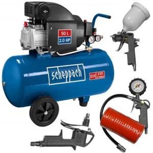 Compresor Profesional Scheppach HC54