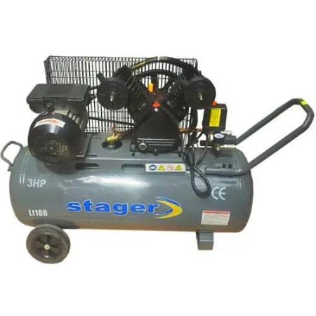 Compresor aer Stager HM-V-0.25/100L monofazat