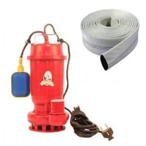 Pompa Apă Murdară Micul Fermier WQD10-10-1 cu furtun de pompier