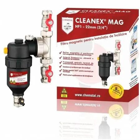 Filtrul antimagnetita CLEANEX MAG HF1 3 4 (22MM)