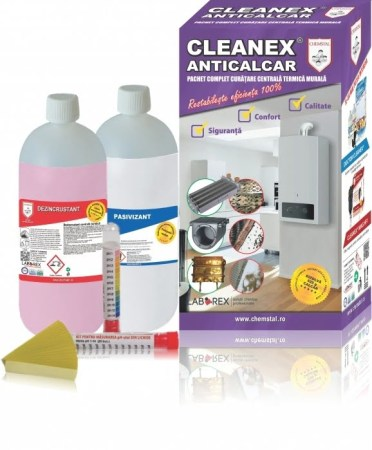 CLEANEX-ANTICALCAR Pachet-curatare-centrale-termice blogdeinstalatii.ro