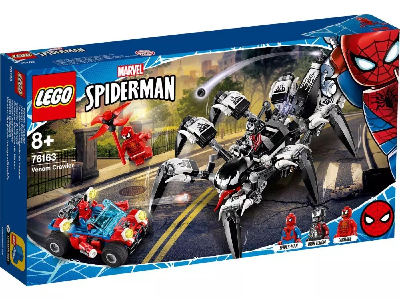 juegos del hombre araña lego