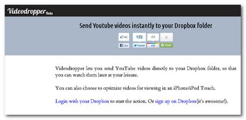 videodropper dropbox