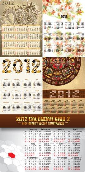 2012 calendario