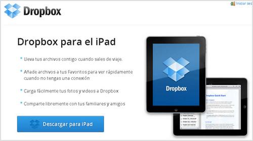 dropbox ipad