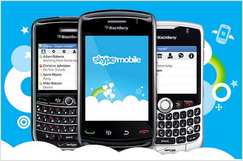 skype mobile blackberry