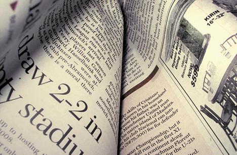 La gente deja de leer diarios, muchos se preguntan para qué seguir leyendo.
