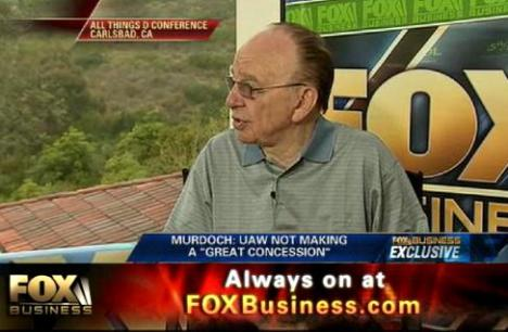 """Murdoch en Fox. A los 78 años proyecta """"a 10 o 15 años"""": """"El futuro está en la tinta digital"""""""