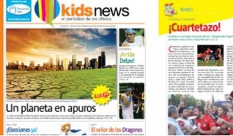 Como esa edición tan pícara de Clarín-pequeño ahora viene un diario en serio para chicos