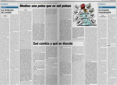 ¿Ley de medios K o ley de medios Clarín? ¿Qué estamos discutiendo?