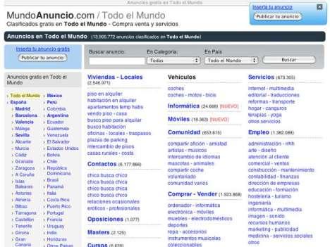 Portada sencilla la de Mundo Anuncio, que se expande en el mundo hispano.