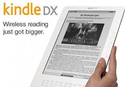 Un Kindle más grande para salvar a los periódicos, según anunciaba el lobby the Amazon para atraer a los editores.