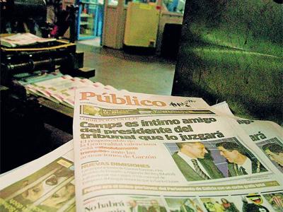 Público, de España, se imprime en Argentina de la mano de Clarín