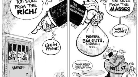 A diferencia de lo que sugiere este chiste, para Elías, Madoff y Obama representa a dos generaciones diferentes. Ambas son nuestra audiencia.