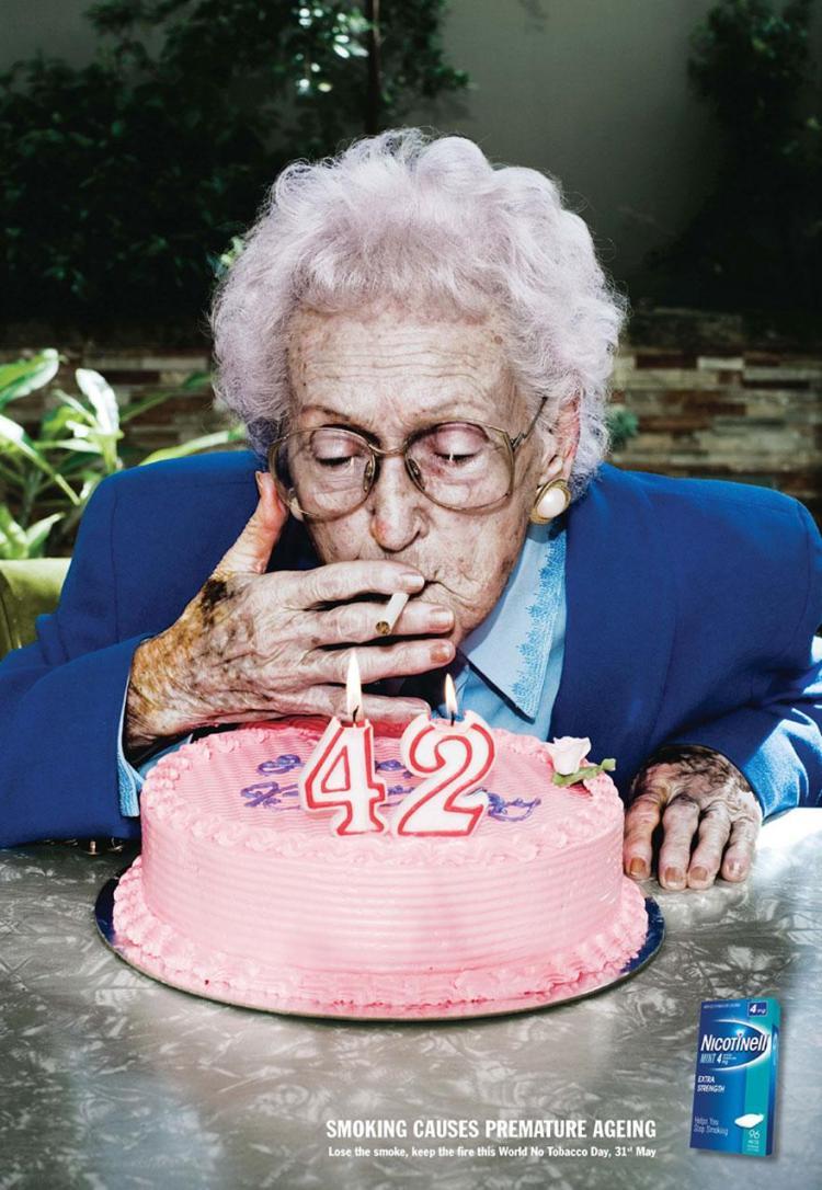 Fumar provoca el envejecimiento prematuro