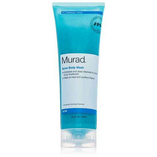 cách trị mụn lưng hiệu quả nhất với sữa tắm murad - cách trị mụn ở ngực và lưng