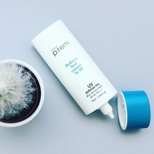 kem chống nắng Make P:rem Blue Ray Sun Cream