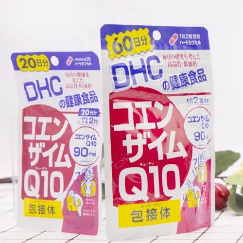 Viên uống chống lão hóa da DHC Coenzyme Q10 tốt không