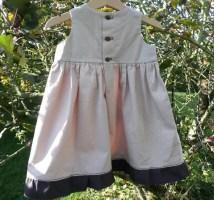 Patron couture Bébé - Robe chasuble