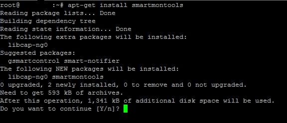 Monitorizar disco duro