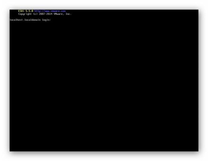 ESXi habilitar Shell y SSH