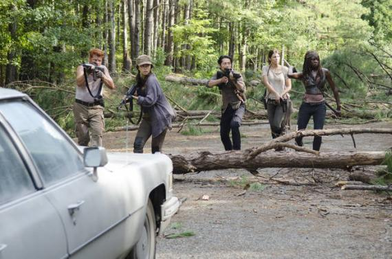 Imagen promocional de The Walking Dead 5x11: The Distance