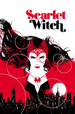 Portada de Scarlet Witch 1, obra de David Aja