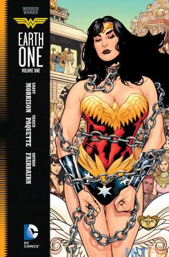 Portada de Wonder Woman: Earth One, de Yanick Paquette