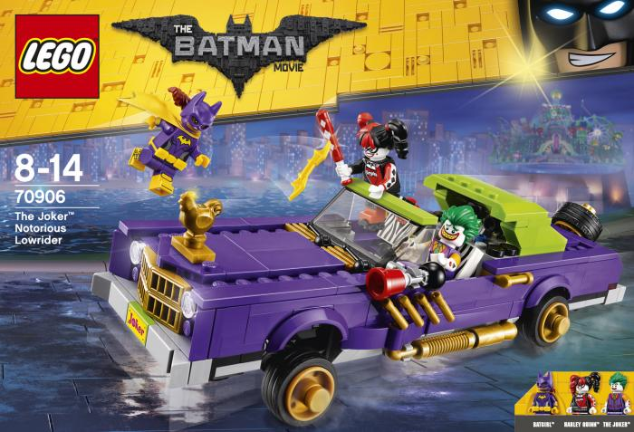 Set de construcción: 70906: Coche modificado de The Joker