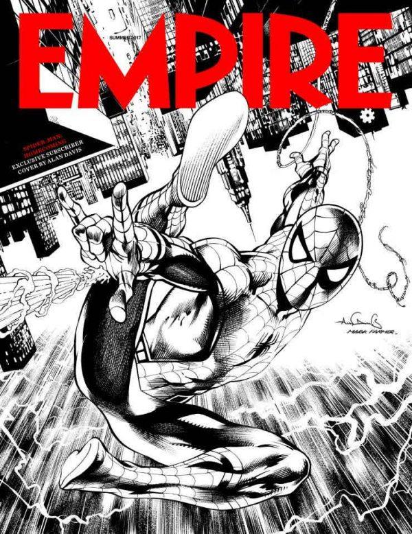 Portada edición limitada de la revista Empire dedicada a Spider-Man: Homecoming (2017)