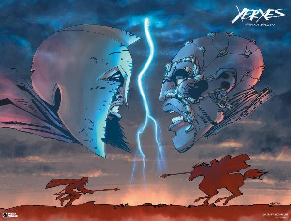 Artwork de Xerxes: The Fall of the House of Darius and the Rise of Alexander