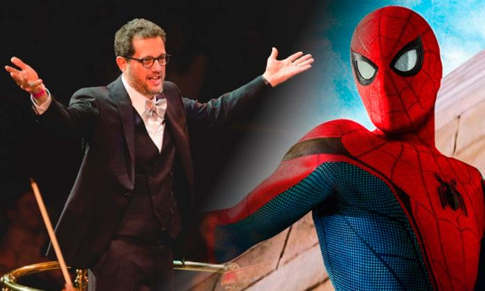 Montage of Michael Giacchino and Spider-Man