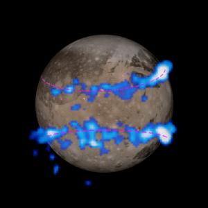 aurorele de pe Ganymede